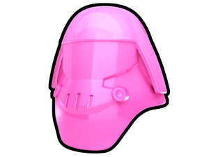 Pink Assault Helmet