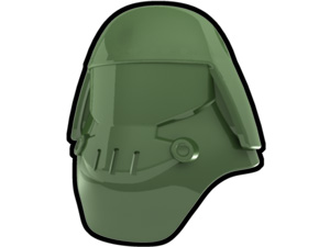 Sand Green Assault Helmet