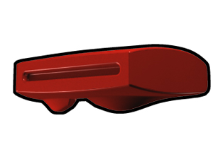Red Phase II Binocular Visor