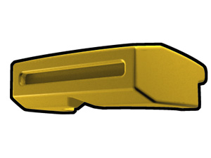 Yellow Phase I Binocular Visor