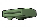 Sand Green Phase II Binocular Visor