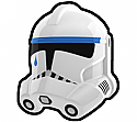 White TP Trooper Helmet