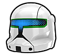 White DKT Commando Helmet