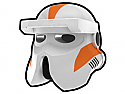 White 212th Driver Helmet