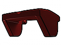 Dark Red Phase I Sun Visor