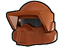 Dark Orange Recon Helmet