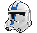 White Bow Trooper Helmet