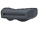 Dark Gray Phase II Binocular Visor
