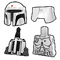 Mando White BOB Pack