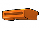 Orange Phase I Binocular Visor