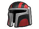 Red Mando RV Helmet