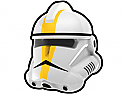 White Commander GAL Helmet