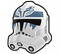 White BST Trooper Helmet
