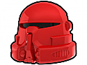 Red Airborne Helmet