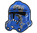 Blue Camo Trooper Helmet