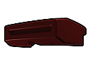 Dark Red Phase I Binocular Visor
