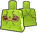 Lime Torso with Brass Brassiere