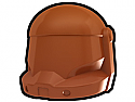Dark Orange Commando Helmet