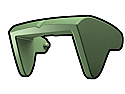 Sand Green Phase II Sun Visor