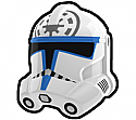 White JES Trooper Helmet