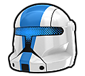 White NNR Commando Helmet
