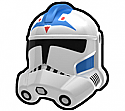 White FVS Trooper Helmet