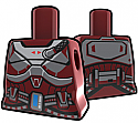Dark Red Torso with Armor