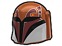 Dark Orange Rebel Hunter Helmet