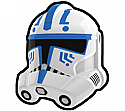 White HDCS Trooper Helmet