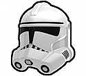White Gen Trooper Helmet