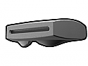 Gray Phase II Binocular Visor