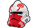White Commander Thorn Helmet