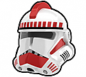 White Commander THR Helmet