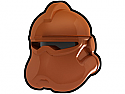 Dark Orange Corps Helmet