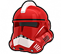 Red Commander FX Helmet