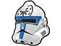 White Commander Jes Helmet