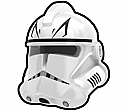 White Commander Force Helmet