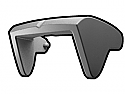 Gray Phase II Sun Visor