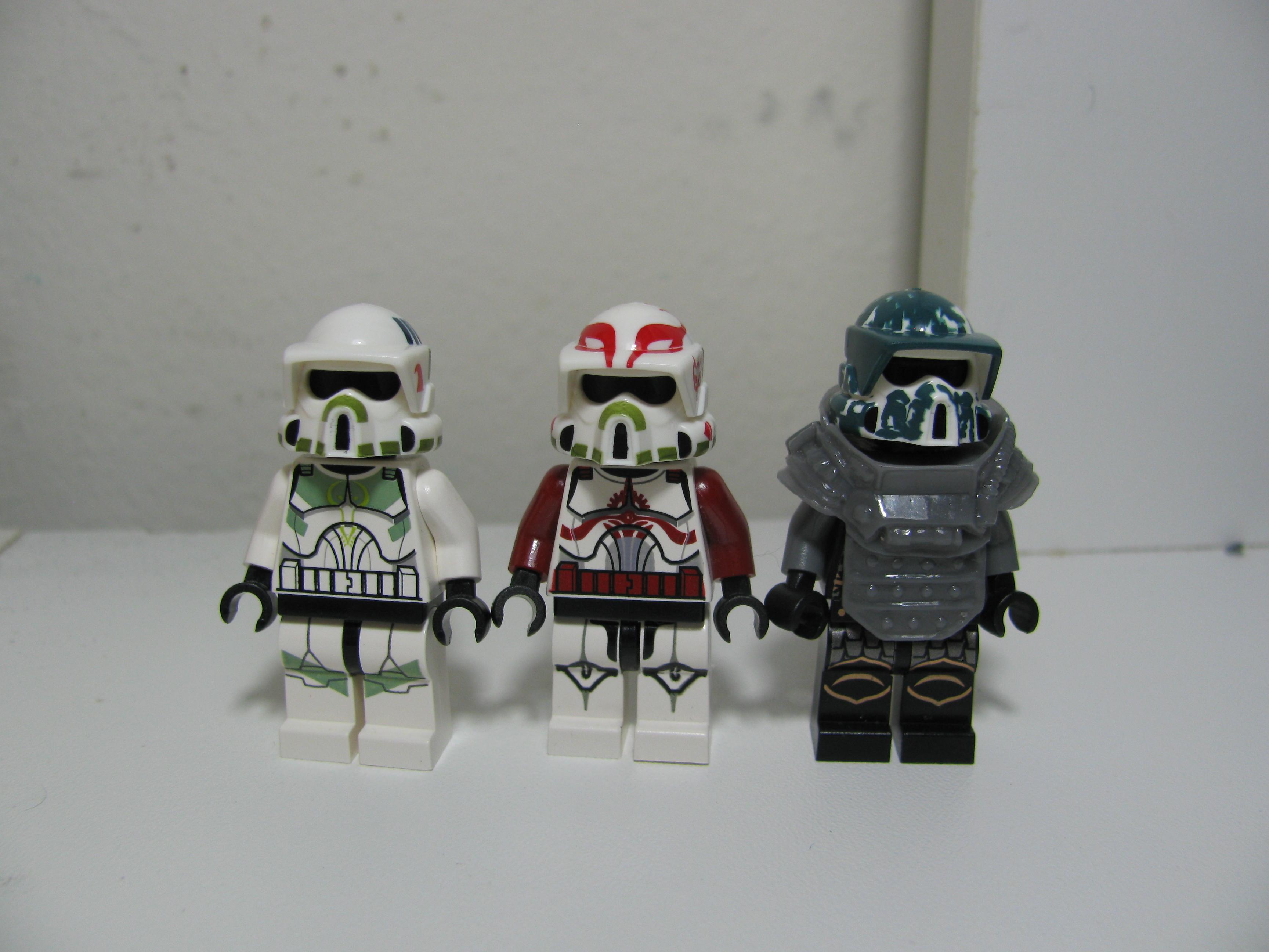 Custom Lego Star Wars Clone Commandos New Lego Star Wars Clone
