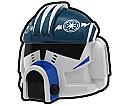 White UNK Pilot Helmet