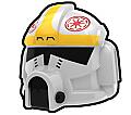 White OB Pilot Helmet