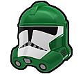Green Doom Trooper Helmet