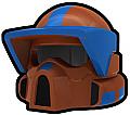 Dark Orange Recon BMR Helmet